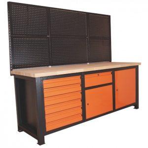 Nowy stół warsztatowy z nadstawką