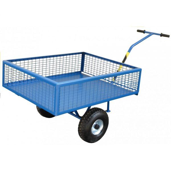 Wózek gospodarczy Maciej z osiatkowanymi bokami