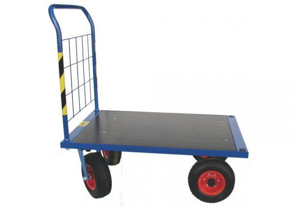Wózek platformowy WP-22 na kołach pneumatycznych