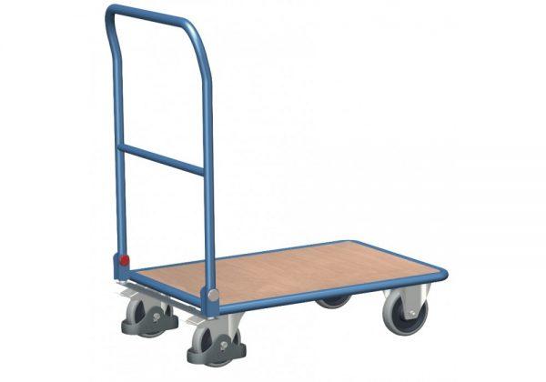 Wózek platformowy ze składanym uchwytem WP-15