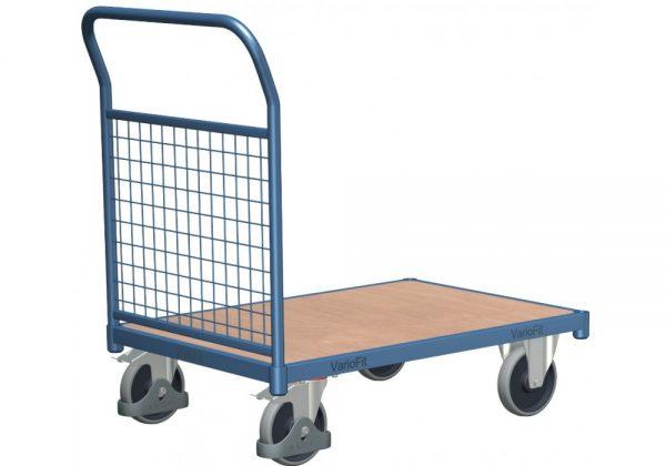 Wózek platformowy z osiatkowaną ścianką WP-2