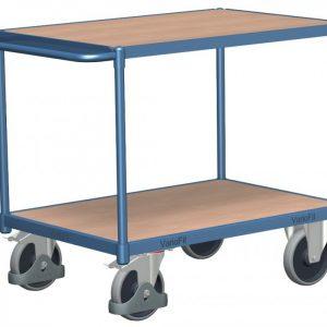 Wózek platformowy z dwoma półkami WP-6