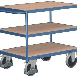 Wózek platformowy trzy półki jezdne WP-7