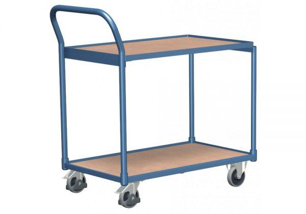 Wózek platformowy z dwoma półkami WP-8