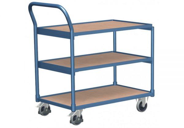 Wózek platformowy trzy półki jezdne WP-9