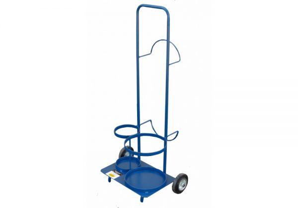 Wózek transportowy do butli z gazem i aparatury spawalniczej