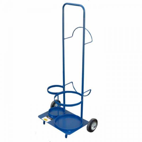 wózek do butli z gazem i aparatury spawalniczej