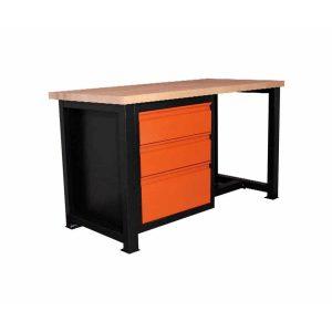 stół ślusarski solidny bukowy p1411
