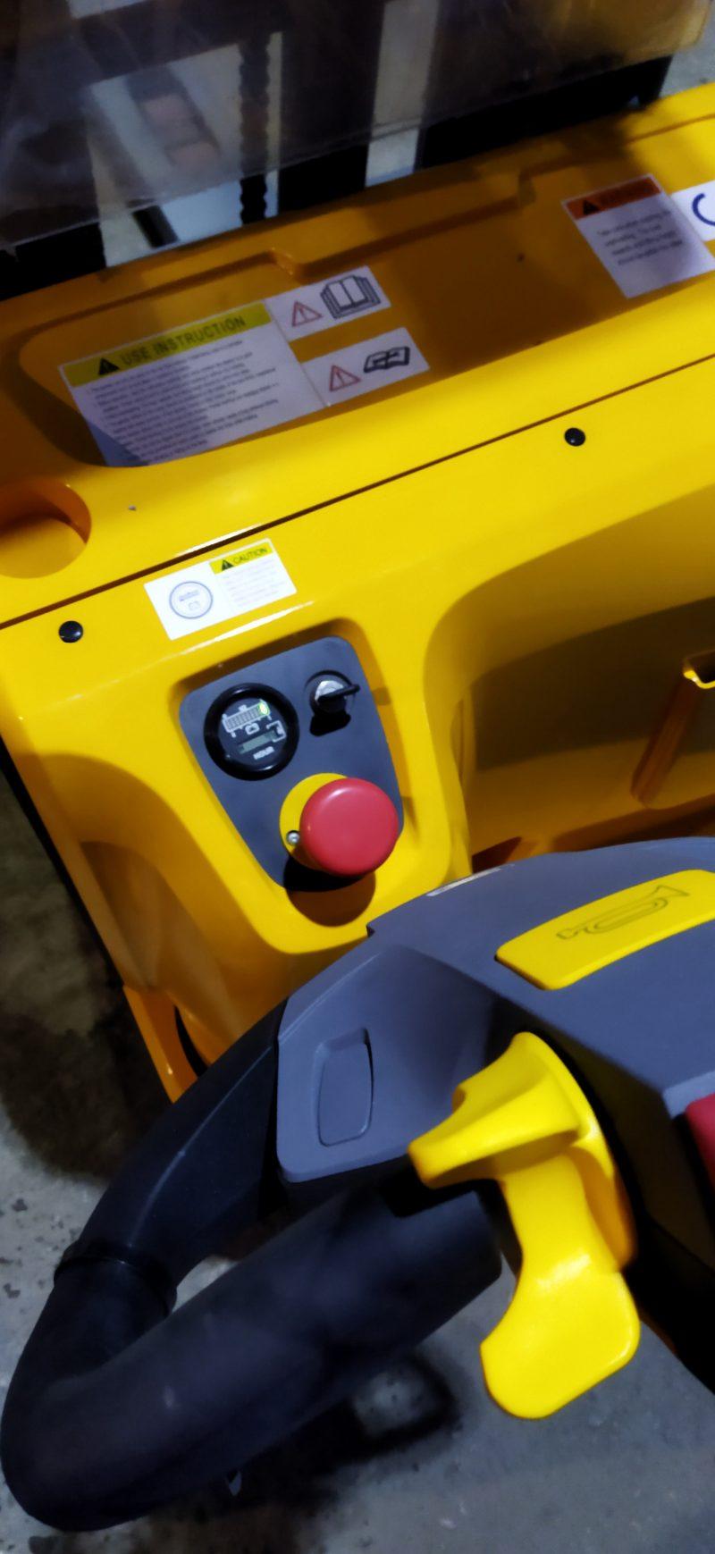 wózek paletowy elektryczny cddr15-III start stop