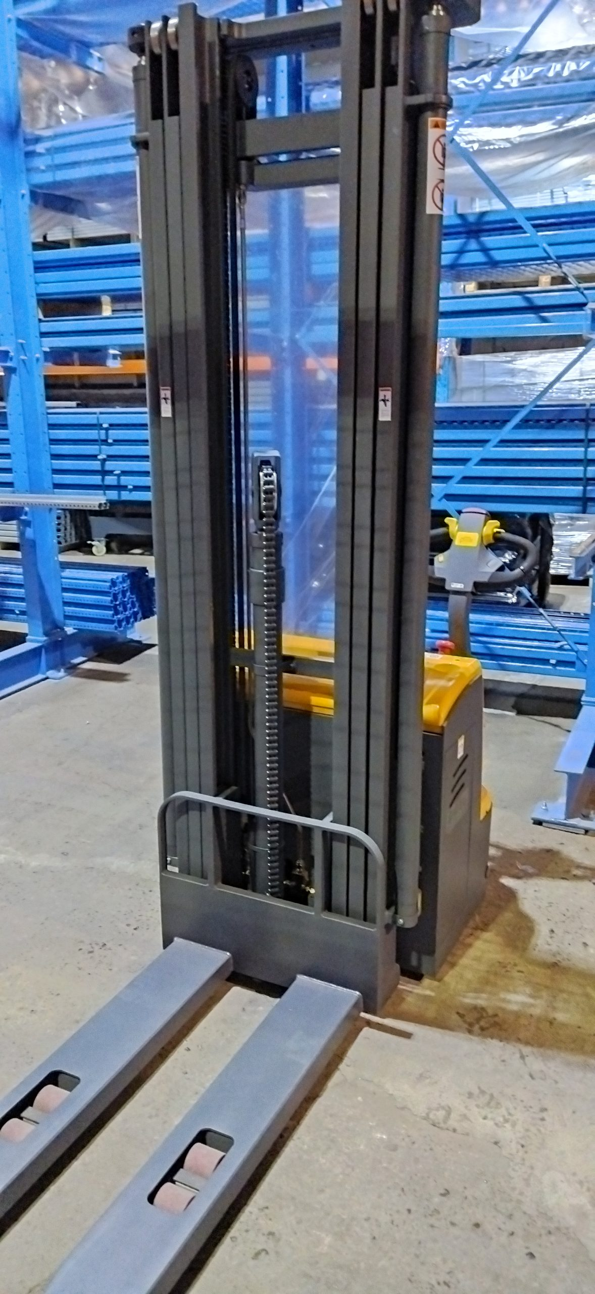 wózek paletowy elektryczny cddr15-III