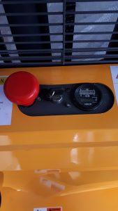 wózek ręczny paletowy cddr15r-e start stop