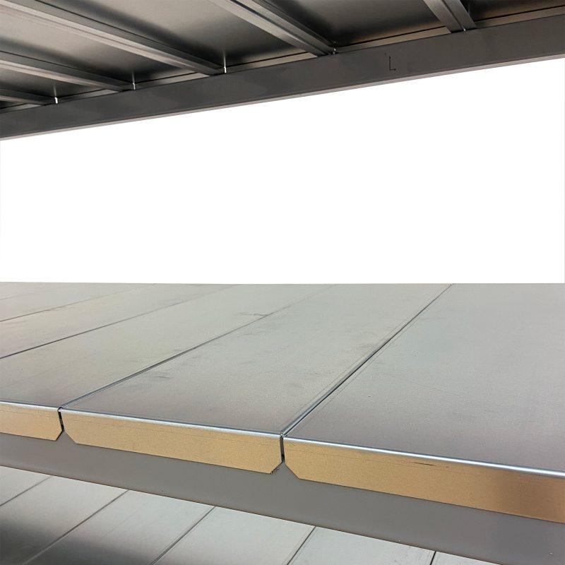 regały panele metalowe