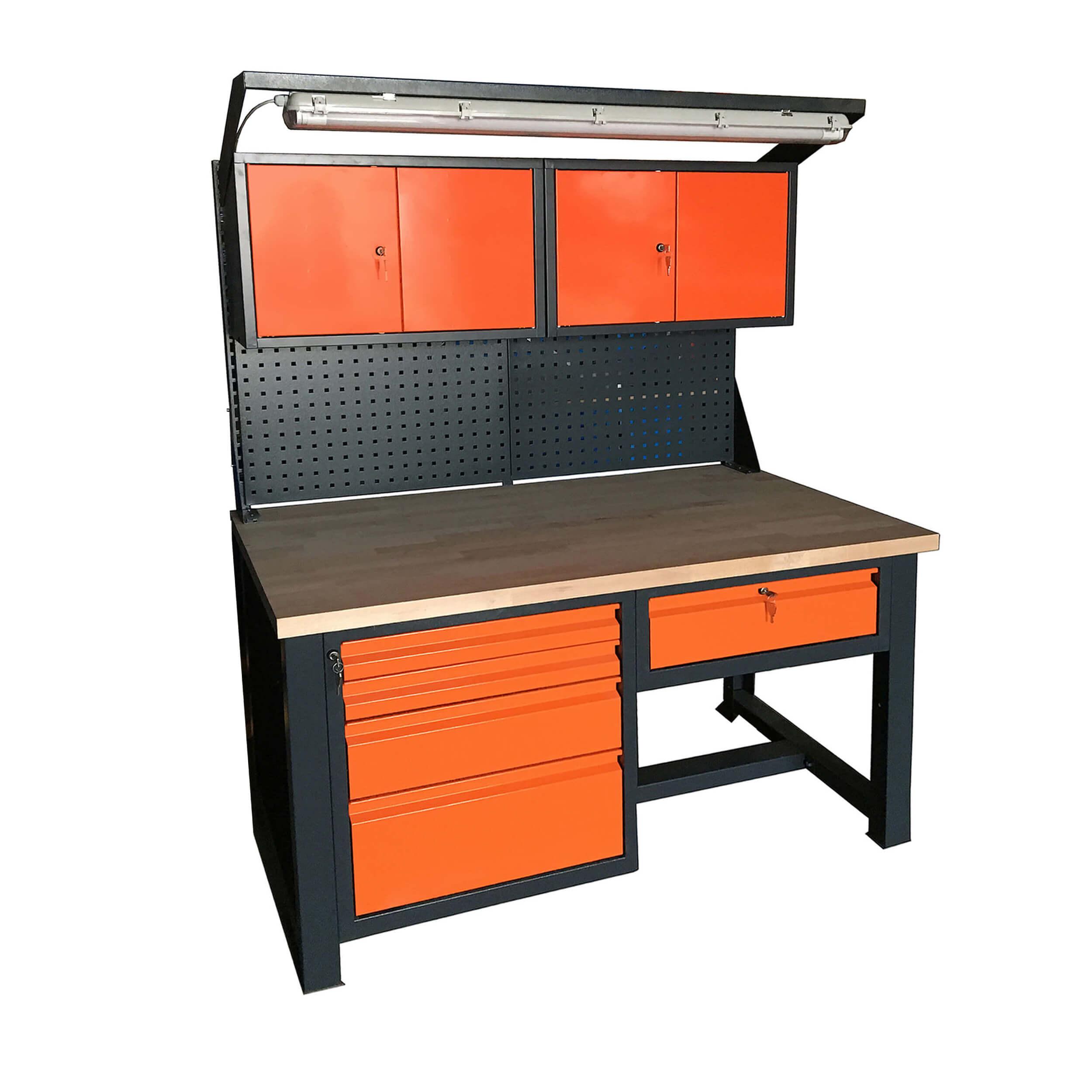 stół warsztat p-1419 nadbudowa szafki