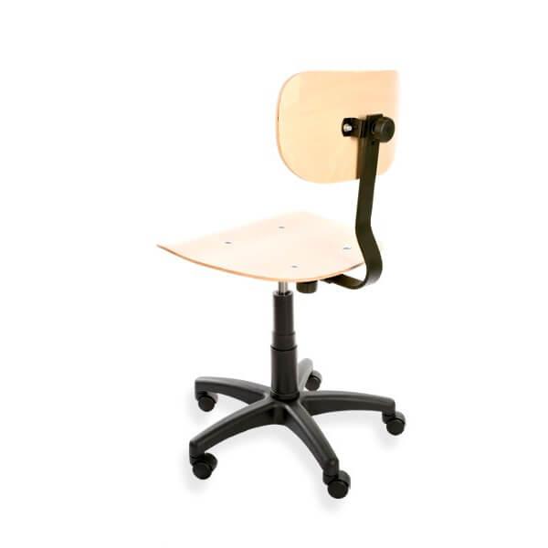 krzesło przemysłowe sklejka tył
